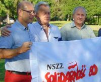 """Jubileusz Zakładowej Organizacji Związkowej NSZZ """"Solidarność"""" 80 (ZDJĘCIA)"""