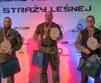 Strażnicy leśni z Podkarpacia na podium (ZDJĘCIA)
