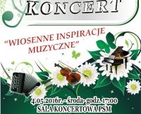 NASZ PATRONAT: Koncert  Młodej Sanockiej Filharmonii