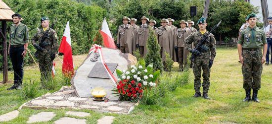 """W Dobrej odsłonięto pomnik majora """"Hubala"""" Henryka Dobrzańskiego (ZDJĘCIA)"""