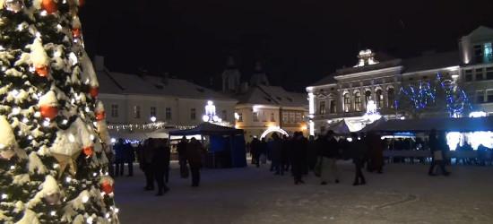 Spotkanie wigilijne na sanockim Rynku (VIDEO)