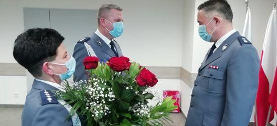 Komendant leskiej Policji, komisarz Jacek Pączek, przechodzi na emeryturę