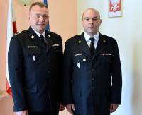 Mł. bryg. Grzegorz Oleniacz nowym zastępcą komendanta Państwowej Straży Pożarnej w Sanoku (ZDJĘCIA)