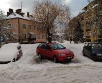 PARKOWANIE PO SANOCKU: To zdenerwowało innych kierowców. Na zaśnieżonych parkingach trudno o miejsce, a tu… (ZDJĘCIE)