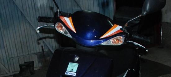 Stracił panowanie nad motorowerem i wywrócił się (FOTO)