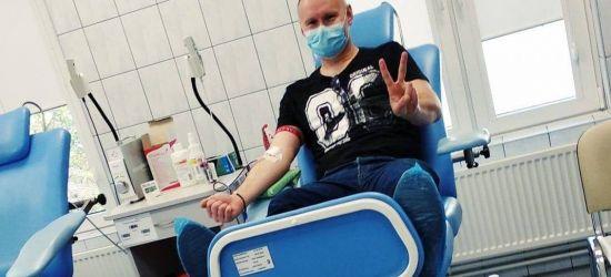 SANOK. Oddaj z nami krew na WOŚP!