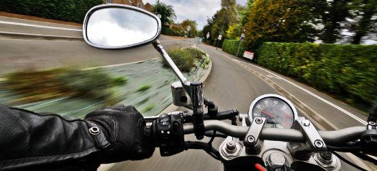 184 km/h ulicami miasta. Pościg za motocyklistą w Krośnie