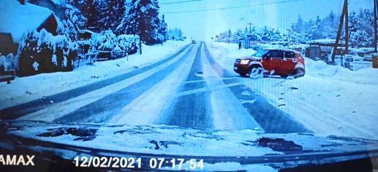 ZAGÓRZ: Nierozważny kierowca mógł spowodować wypadek! (VIDEO)