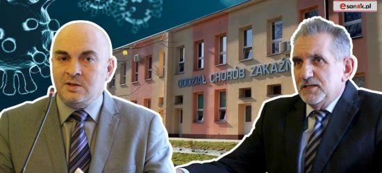 """Koronawirus coraz bliżej Sanoka! """"Szpital gotowy na wojnę"""" (VIDEO)"""