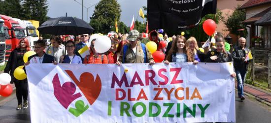 """SANOK: Marsz Dla Życia i Rodziny. """"Jestem Mamą – to moja kariera"""" (FOTO)"""
