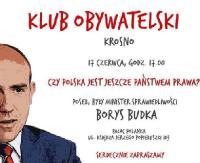 """Borys Budka w Krośnie: """"Czy Polska jest jeszcze państwem prawa""""?"""