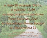 """SDK: """"Czas leśnych kurierów"""" – historia naszego regionu"""
