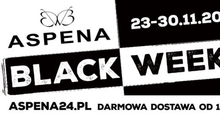 BLACK WEEK w Sklepie Obuwniczym ASPENA! Darmowa dostawa od 149 zł!