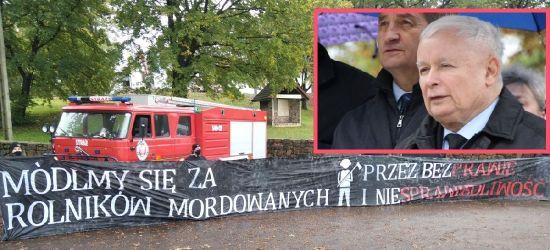 """""""Podziękowali"""" PiS wymownym transparentem! Planowane protesty w Rzeszowie"""