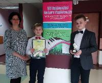 Laury zwycięstwa i wyróżnienia dla młodych, sanockich pianistów! (ZDJĘCIA)