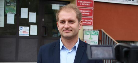 GMINA SANOK: Adrian Herbut kandydatem na wójta