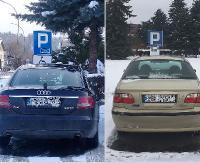 """INTERWENCJA: To już szczyt bezczelności. """"Chciałam zaparkować, niestety miejsce dla niepełnosprawnych było zajęte"""" (ZDJĘCIA)"""