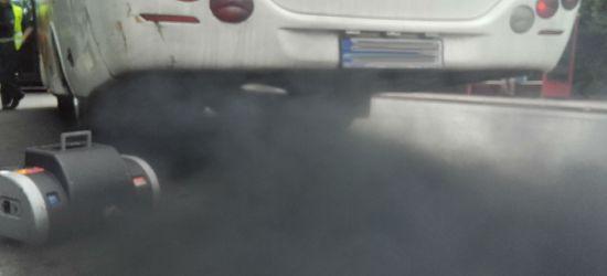 """W dymomierzu zabrakło skali. Akcja """"Smog"""" w Brzozowie (ZDJĘCIA)"""