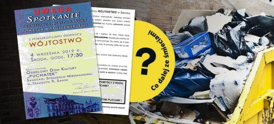 Co dalej ze śmieciami w Sanoku? (FILM, ZDJĘCIA)