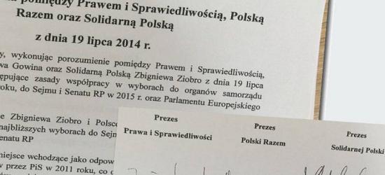 """AKTUALIZACJA: Czy PiS dotrzyma umowy koalicyjnej? Podkarpackie w """"tajnym aneksie prawicy"""""""