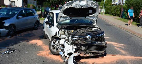 PODKARPACIE. Groźny wypadek. Pięć uszkodzonych samochodów (ZDJĘCIA)