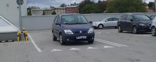 PARKOWANIE PO SANOCKU: Mistrz nad wszystkie mistrze… parkowania