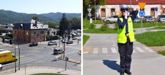 SANOK: Wyłączona sygnalizacja świetlna na skrzyżowaniu! Policjanci pokierują ruchem