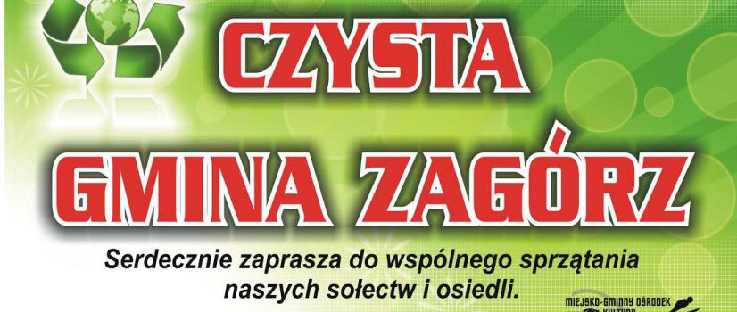 """Zaproszenie na akcję """"Czysta Gmina Zagórz"""" (VIDEO)"""