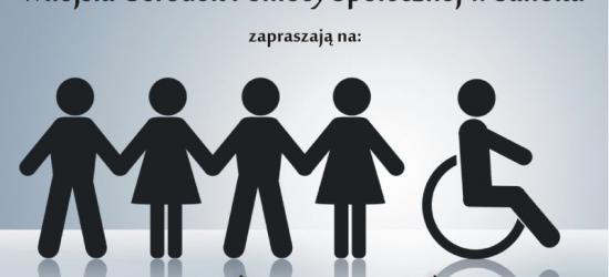 JUTRO: Dzień Godności Osób Niepełnosprawnych