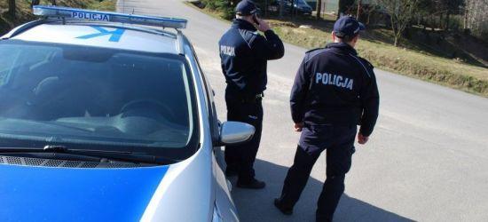 Podczas kwarantanny praca policjantów okazuje się niezbędna