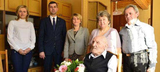 GMINA BUKOWSKO: Setne urodziny pana Bronisława. Wyjątkowy jubileusz (FOTO)