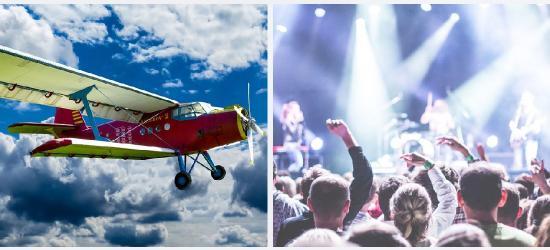 IMPREZOWY ROZKŁAD JAZDY: Piknik lotniczy, gwiazdy kabaretu i ciekawe koncerty