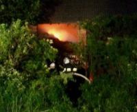 GMINA BUKOWSKO: Pożar budynku gospodarczego w Nadolanach. Strażacy walczyli z ogniem ponad cztery godziny (ZDJĘCIA)