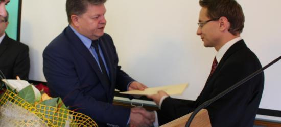 Gratulacje dla posła-elekta i sprawozdanie starosty (FILM, ZDJĘCIA)