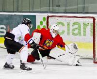 HOKEJ: Sanoczanie wygrali mecz treningowy z reprezentacją Rumunii U20 (ZDJĘCIA)