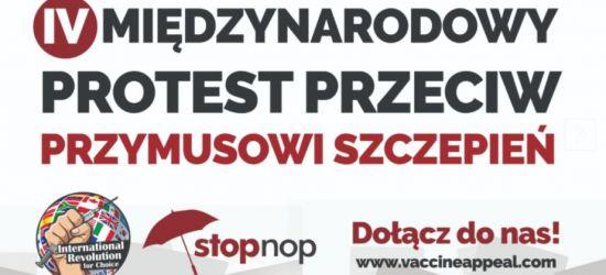 SOBOTA: Protest przeciw przymusowi szczepień! Wsparcie gwiazd showbiznesu (VIDEO)