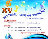 """SOBOTA, NIEDZIELA: XV Festiwal Piosenki Religijnej. """"Kto śpiewa dwa razy się modli"""""""
