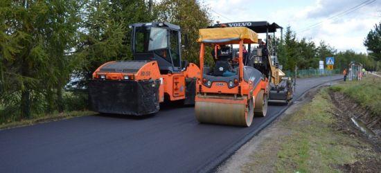 Koniec remontu drogi w Nowym Łupkowie (ZDJĘCIA)