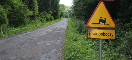 POWIAT SANOCKI / ZAŁUŻ: Droga, która straszy od wielu lat. Będzie remont! (ZDJĘCIA)