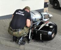 Pierwsze, skradzione silniki zaburtowe. Ich wartość to 45 tysięcy złotych (ZDJĘCIA)