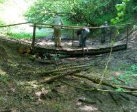 BIESZCZADY: Opadły wody w strumykach i potokach. Mostki na szlakach naprawione (ZDJĘCIA)