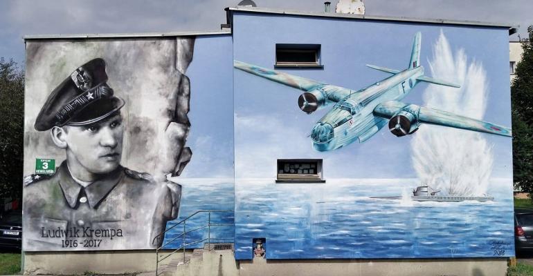 Bohater patrzy z sanockiego muralu! Kolejna świetna realizacja naszych artystów (FOTO)