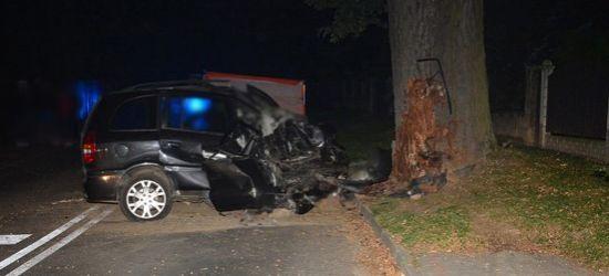 REGION: Uderzył w drzewo. Zginał na miejscu