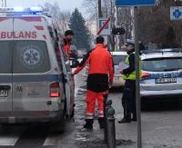 Potrącenie na ulicy Jagiellońskiej. 17 latka w szpitalu. Kierowca stracił prawo jazdy (ZDJĘCIA)