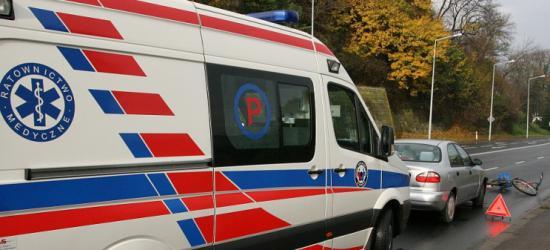 Śmiertelny wypadek z udziałem policyjnego radiowozu
