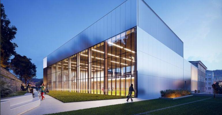 SANOK: Jest koncepcja rozbudowy hali sportowej przy II LO! (WIZUALIZACJA)