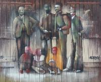 Stare stodoły, szopy i drzwi, czyli przestrzeń do malowania z duszą. Ciekawy projekt Andrejkowa (ZDJĘCIA)