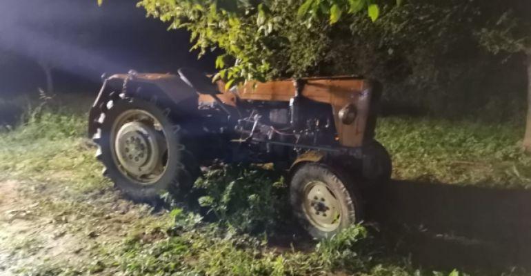 PODKARPACIE. Tragedia podczas prac polowych. Traktor przygniótł mężczyznę (FOTO)
