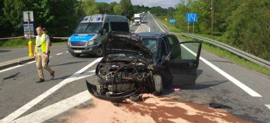 Mieszkaniec powiatu sanockiego sprawcą wypadku? Cztery osoby ranne w zderzeniu dwóch opli (ZDJĘCIA)