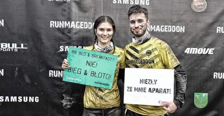 SANOK: Marlena i Oskar – herosi z PWSZ! (FILM, ZDJĘCIA)